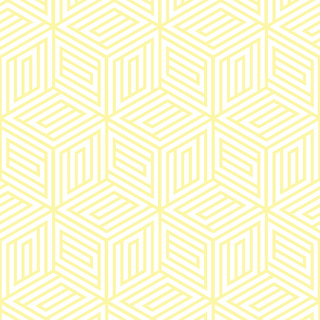 yellow and white geometric pattern abstract vector background. Modern stylish texture.