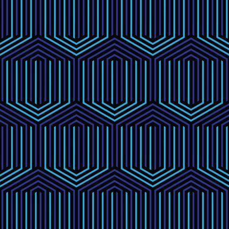 黒と青の幾何学的パターン抽象的なベクトルの背景。モダンなスタイリッシュな質感。