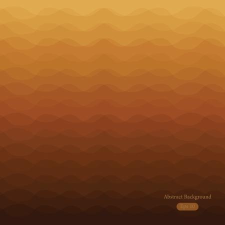 バナーの波状の背景、。 ベクトルイラスト。