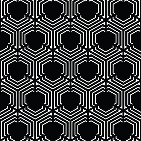 黒と白のベクトルパターンクリスマスの背景。休日の抽象的なテクスチャ。