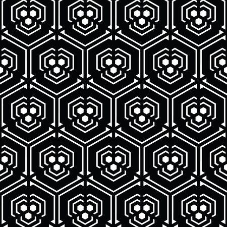 黒と白のベクトル パターン クリスマスの背景。休日の抽象的なテクスチャです。
