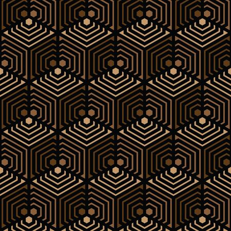 black and brown Vector pattern Christmas background. Holiday abstract texture.