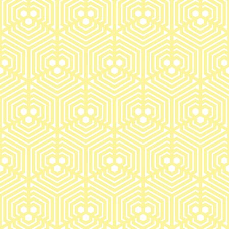yellow and white Vector pattern Christmas background. Holiday abstract texture.