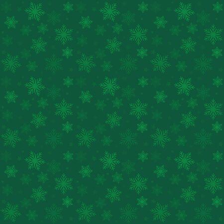 緑ベクトル パターン クリスマスの背景。休日の抽象的なテクスチャです。
