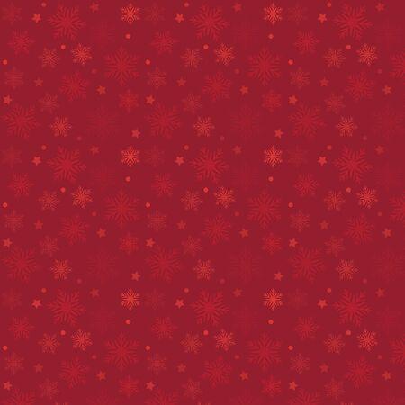赤いベクトル パターン クリスマス背景。休日の抽象的なテクスチャです。  イラスト・ベクター素材