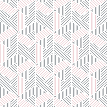 gray and pink geometric pattern abstract vector background. Modern stylish texture.