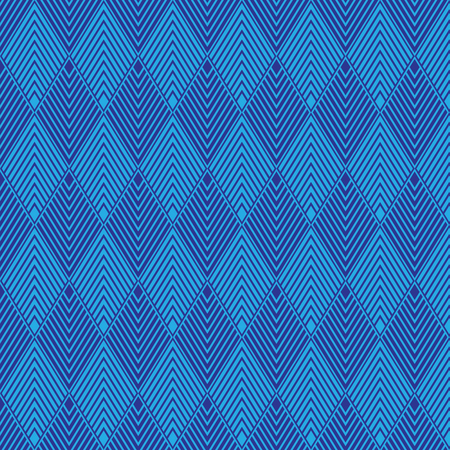 Blue geometric pattern abstract vector background. Modern stylish texture.  イラスト・ベクター素材