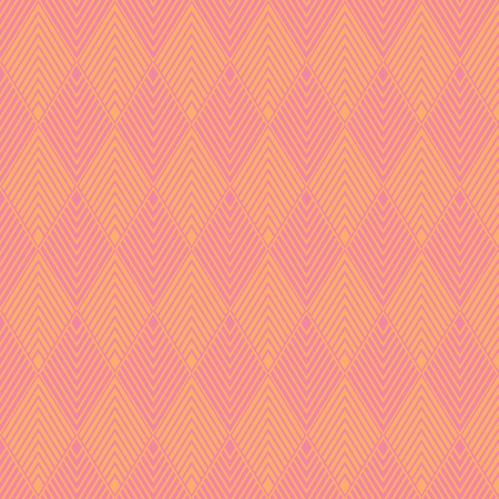 Pink and orange geometric pattern abstract vector background. Modern stylish texture.