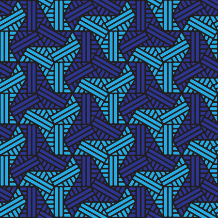 black and blue geometric pattern abstract vector background. Modern stylish texture. 写真素材 - 102188747