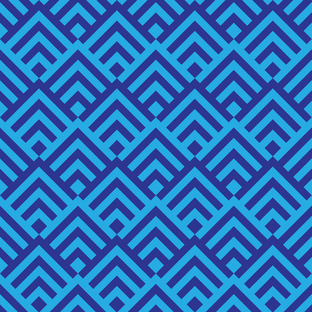blue geometric pattern abstract vector background. Modern stylish texture. 写真素材 - 102078431