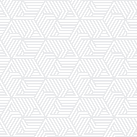 white and gray geometric pattern abstract vector background. Modern stylish texture.  イラスト・ベクター素材