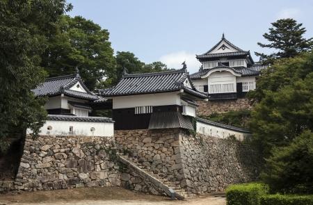 okayama: Bitchu Matsuyama Castle- Okayama, Japan Editorial