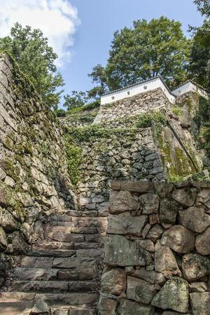 okayama: Castle Fortifications in Okayama, Japan