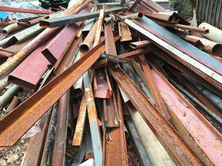 scrapyard: Iron Scrap.
