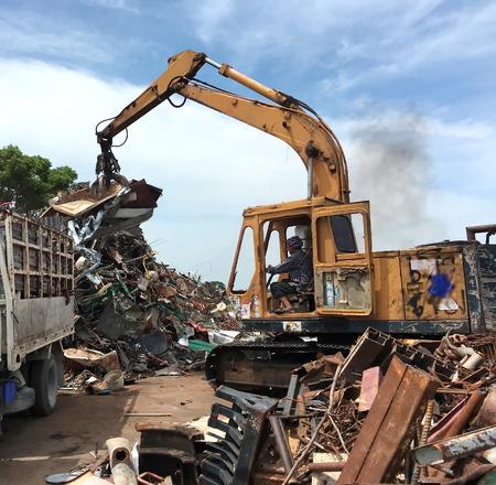 scrap iron: Iron Scrap.