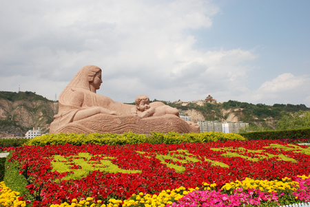 Statue Of Mother Yellow River