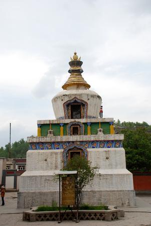 Kumbum Monastery round tower
