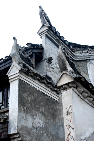 Fenghuang Ancient City ancient building wall