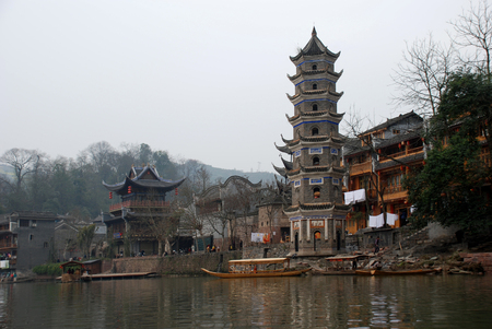 Fenghuang Ancient City Фото со стока