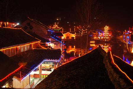 Fenghuang Ancient City Редакционное