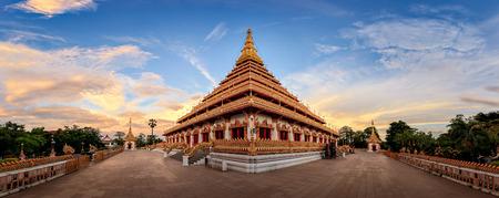 isaan: Wat Nong Wang  Mahathat Kaen Nakhon, Khon Kaen Isaan Thailand Stock Photo