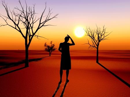pauvre: La s�cheresse que le r�sultat du r�chauffement climatique