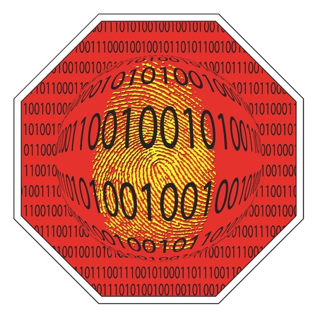 Security concept, protect your computer from spyware Stock Photo - 12035506