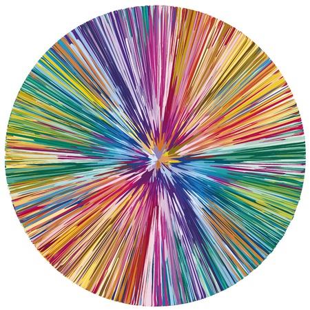 Éclaboussures de peinture abstraite en tant que symbole de la créativité et la spontanéité Vecteurs