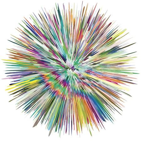aerografo: Salpicadura de pintura abstracta, como s�mbolo de la creatividad y la espontaneidad