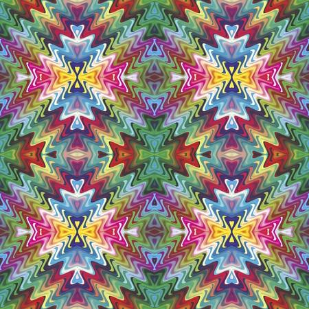 rekodzielo: Seamless wyrafinowane tekstury w nowoczesnym stylu, w żywych kolorach Ilustracja