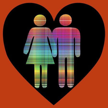 secret love: Secret love, card for all who love each other