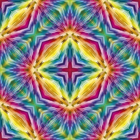 Holy cross pattern. Contemporary seamless ornament  in vivid colors Stock Photo - 13403418
