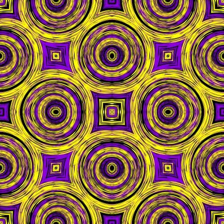 Optic illusion illustration with geometric design illustration