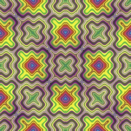 Optic illusion illustration with geometric design Stock Illustration - 13614676