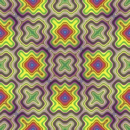 Optic illusion illustration with geometric design Stock Illustration - 13614676
