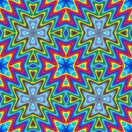 cultura maya: Diseño moderno maya en colores vivos, sin problemas