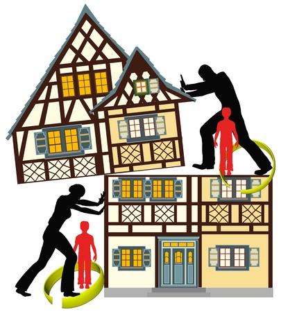 Probleme für die Kinder, wenn die Eltern scheiden lassen. Sie können auch verlieren ihre gesamte Haus.