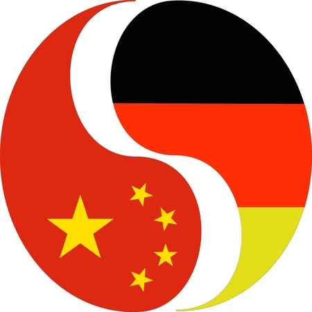 German chinese relationship  Stock Photo - 13785835