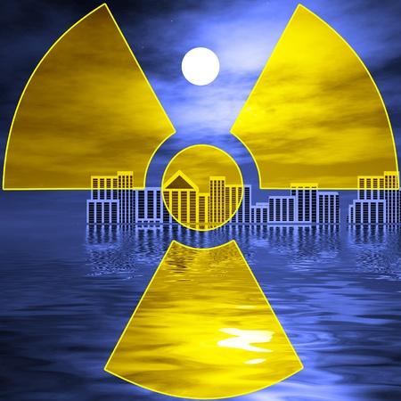 Nuclear disasters like in Japan is threatening mankind Stock Photo - 13804796