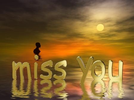 luto: Mi más sentido pésame: I miss you