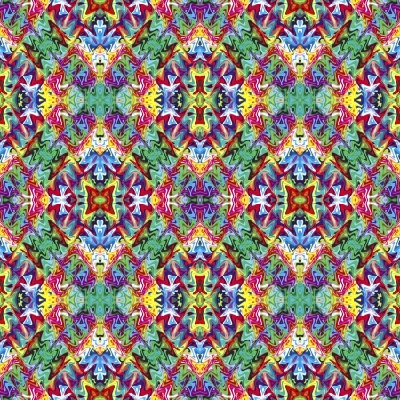Native American textile designs; seamless sophisticated ethnic artwork in vivid colors Stock Photo - 14416999