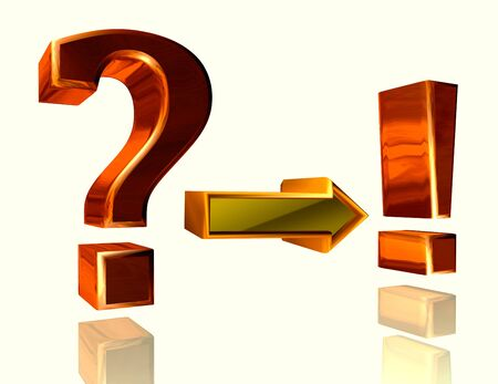 frequently asked question: Frequently asked question. Symbol with question mark and exclamation mark