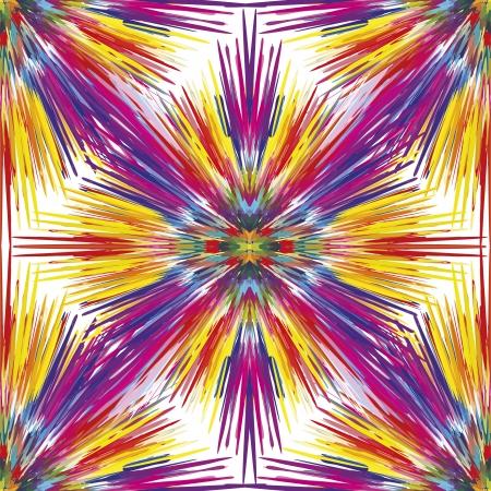 aerografo: Explosi�n de color transparente como s�mbolo de la creatividad y la espontaneidad