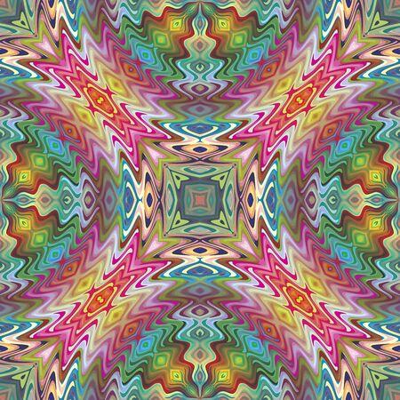brilliant colors: Seamless Native American pattern in contemporary design and brilliant colors