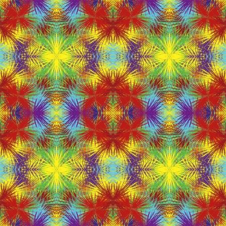 cadeaupapier: Fancy gift wrap met optische illusie: naadloze splash textuur in levendige kleuren van de regenboog
