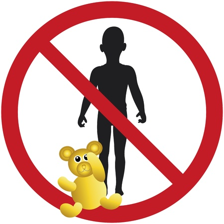 unwelcome: Kids not wanted, sign that children are not permitted or welcome