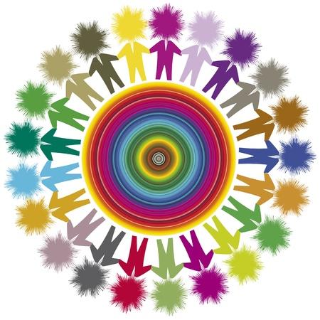 interracial: Pensamiento global, el concepto de diversidad