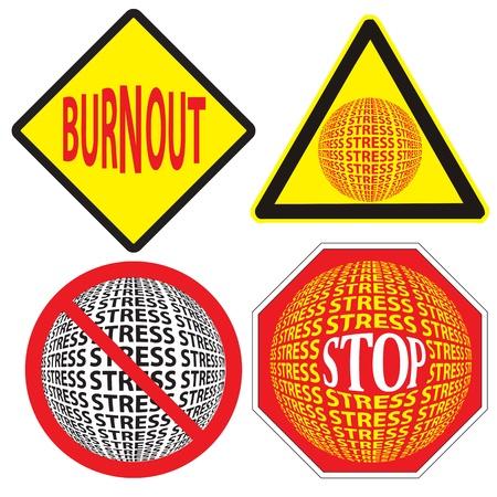 burn out: Set van gezondheidssignalering als boodschap niet tot ernstige gezondheidsproblemen riskeren door stress
