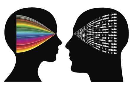 perceptual: Perceptual psychology: Man and woman may have different perspectives and perceptions