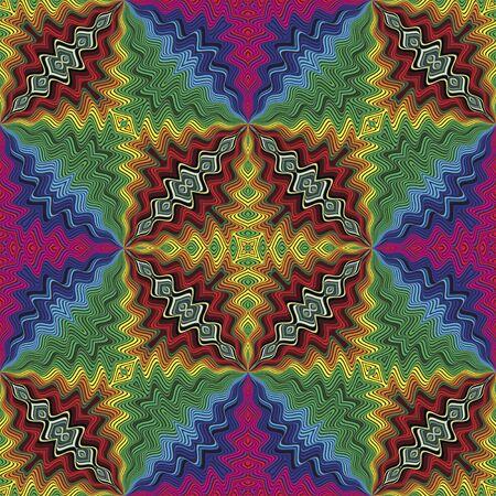 brilliant colors: Discoteca Fussy vector patr�n inspirado en el arte deco con colores brillantes